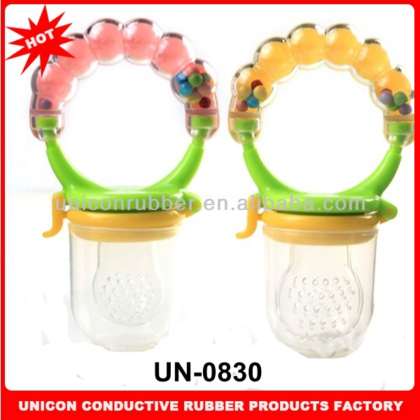 2014 Factory direct sale 100% food grade silicone baby item soft silicone baby item unbreakable UN-0830
