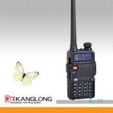 mini dual band FM radio 128CH 2 way walkie talkie