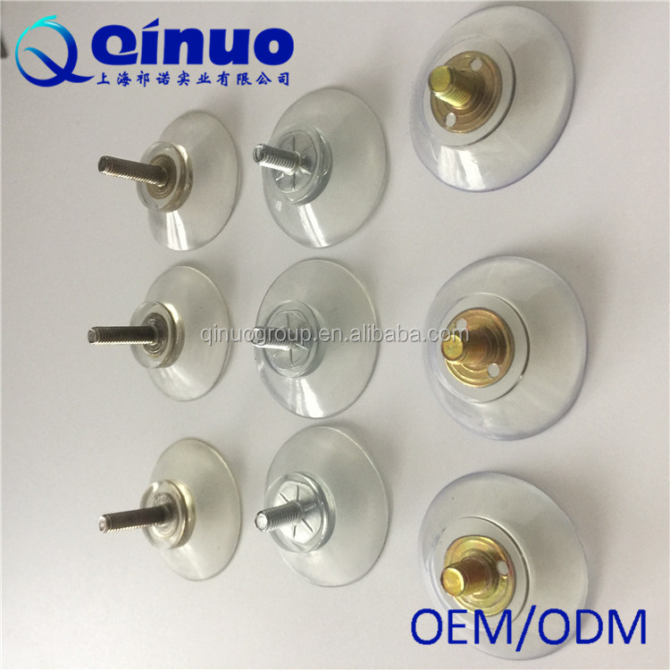 Top rated lowest price 30mm plastic transparent Suction Cup with Screw