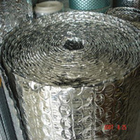 Hot China products wholesale single side aluminum foil insulation material/aluminum foil bubble insulation