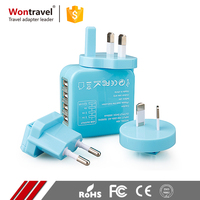 Customized 5V Smart AC DC Power Universal Adaptor Safety Charger Plug Mobile Phone Adapter