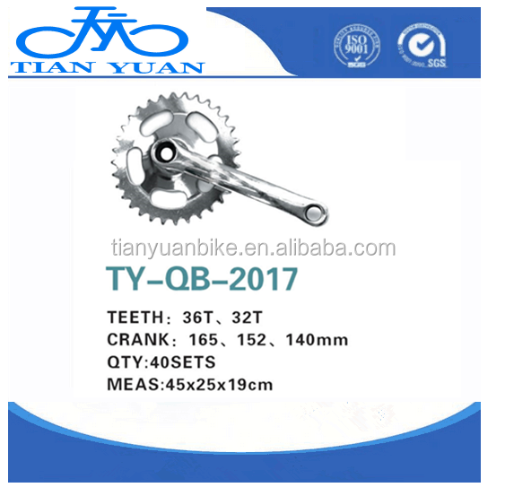 High quality and cheapest steel Bicycle Chainwheel & Crank for rode bicycle/city bike