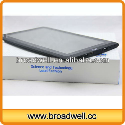 Capacitive Screen Rockchip 3066 Dual Core A9 1.6GHz HD Screen android 4.1 tablet 10 with RJ45 Port