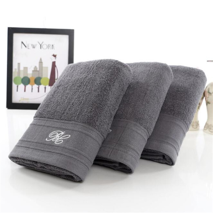 China Wholesale 600 gram 100% Cotton 3Piece Bath <strong>Towel</strong> in Gray