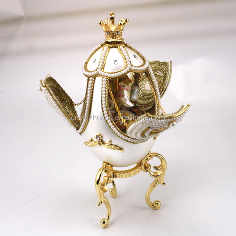 carousel horse music box music jewelry box custom music box