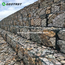 PVC Coated Gabion Stone Baskets