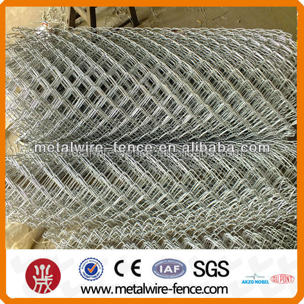 Hot sale roll chain link fence for construction mesh