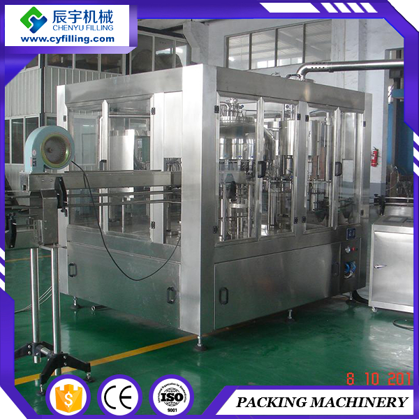 Unique bottle price juice filling and capping machine