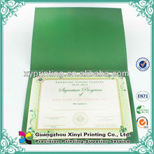 Top Quality OEM Teaching Experience Certificate Wholesale
