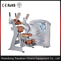 Weight stack gym machines/Gym strength equipment/Shandong DHZ Abdominal Crunch