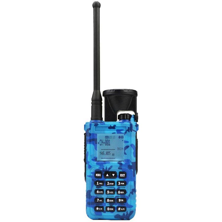 long range 10w vhf/uhf talkie walkie 20km range with 2800mAh battery two way radio