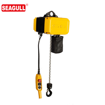TUV standard lift height 3m wireless remote control 1 ton electric hoist, fast speed chain electric hoist