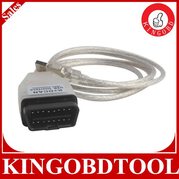 2014 New For BMW INPA Ediabas K+D-CAN DCAN USB Interface OBD2 EOBD Diagnostic Tool Cable for BMW Diagnostic scanner