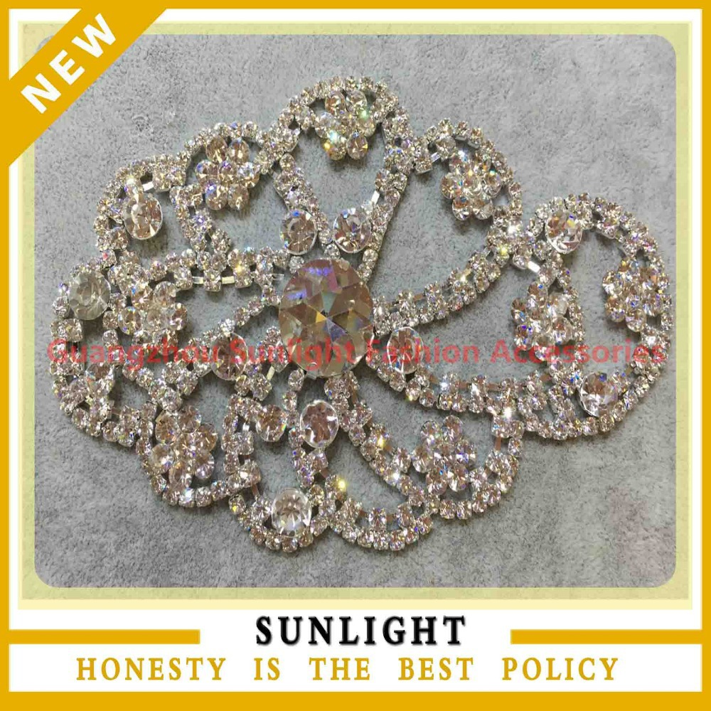 Clothing decorative metal appliques