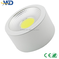 High power 5W COB Surface Mounted led downlight 90-277V 3 years warranty high bright cob ceiling up and down wall light