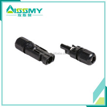 Male female electrical waterproof mc4 solar panel cable connector