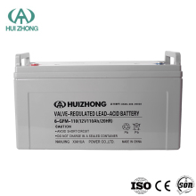 High quality deep cycle 12v 110ah agm vrla battery