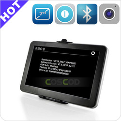 Full function GPS (Bluetooth,AV-IN,Fm) 7 inch car gps navigation for honda pilot