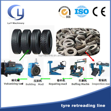 New full automatic tire retread used machines