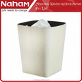 NAHAM Household Slubbed Fabric Living Room Trash Bin