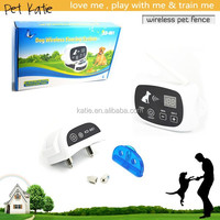 New Arrival Pet Dog Training Wireless Invisible Fence with Shock Collar
