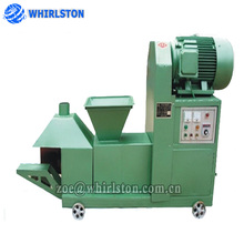 Screw propeller type charcoal briquette making machine