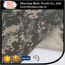 T/C degital twill pixel camouflage military fabric