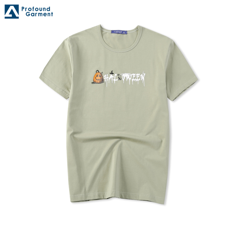 New Design Factory Price Manufacturers China Casual Fashion Silkscreen Printed T Shirts