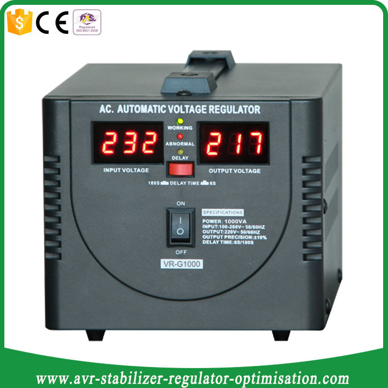 Relay Type Volt Meter Display 1000VA 600W AVR