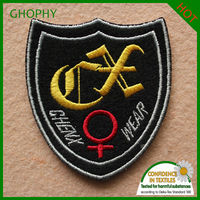 high quality embroidery patch design