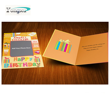 free sample custom print different shapes diy greeting cards for promotion