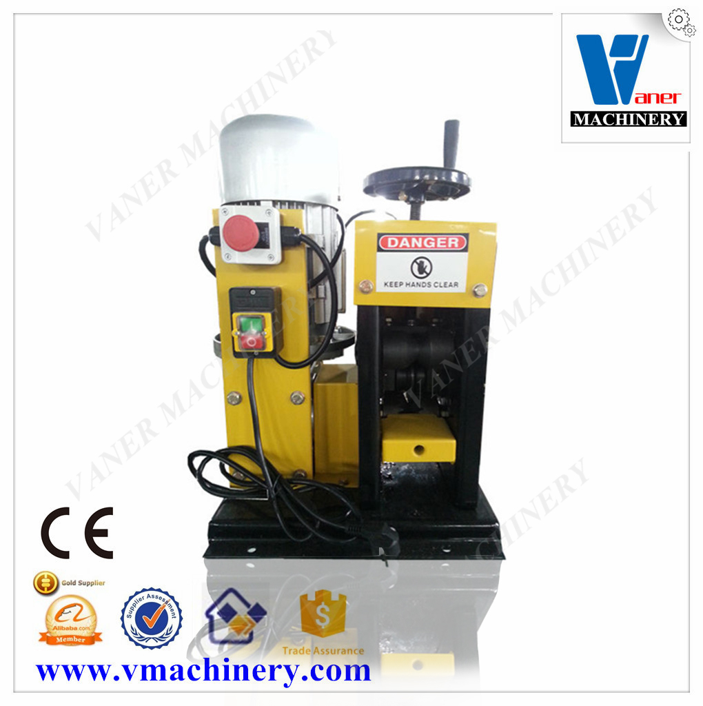edm brass wire stripping machine economy type automatic electric wire stripping machine