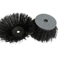 polypropylene and steel wire sweeper side brush