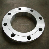 jis 10k water galvanized flat face flange pipe fitting