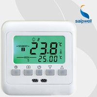 Saipwell newest hot sensitive LCD program digital thermostat , house temperature controller