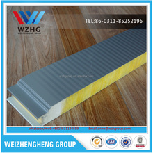 CE&ISO approved Fire Proof Glasswool Acoustic Light Weight solor Sandwich Panel