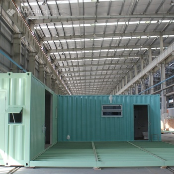 20ft 3 bedroom folding expandable container house floor plan for sale
