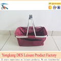 Best price durable folding shopping basket from factory in China