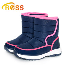 Girls Snow Boots Wool Lining Keep Warm Outdoor Trip Shoes Kids Snow Boots