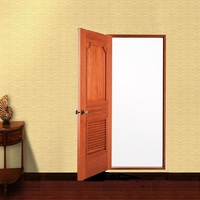 louver wooden door interior door