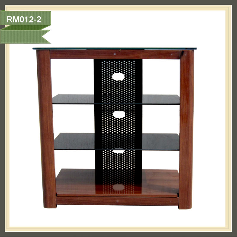 Wood tv rack flip down tv ceiling mount tv picture tubes prices RM012-2