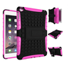 For iPad Mini 4 Kickstand Case, TPU+PC Tire Pattern Hybrid Case For iPad Mini 4