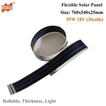12V 250mA 80x1000mm light thickness flexible solar panel