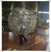 Wholesale clear TPU loopyball/battle ball/bubble ball for football