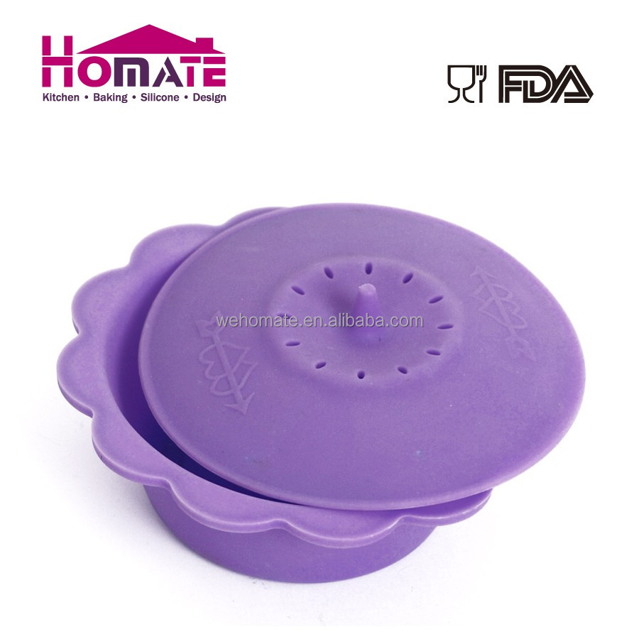 Hot sale silicone microwave food steamer