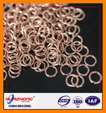 FACTORY DIRECT SALE .BCUP-2 COPPER-PHOSPHORUS BRAZING WELDING ALLOY .COPPER RING