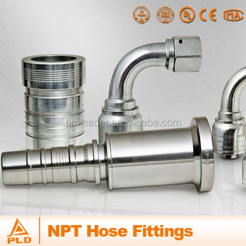 Hydraulic hose fittings Metric BSP JIC NPT Male female hose fitting