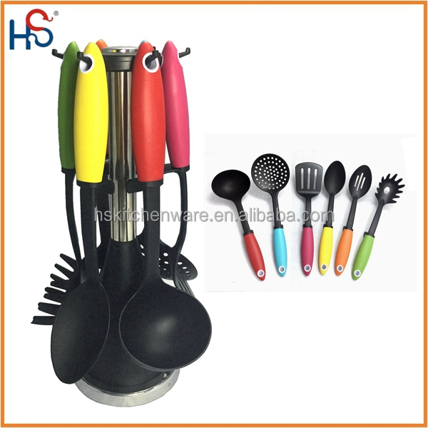 Utensil Sets Utensils Type and Plastic, Nylon Material Kitchen Tools 1666A