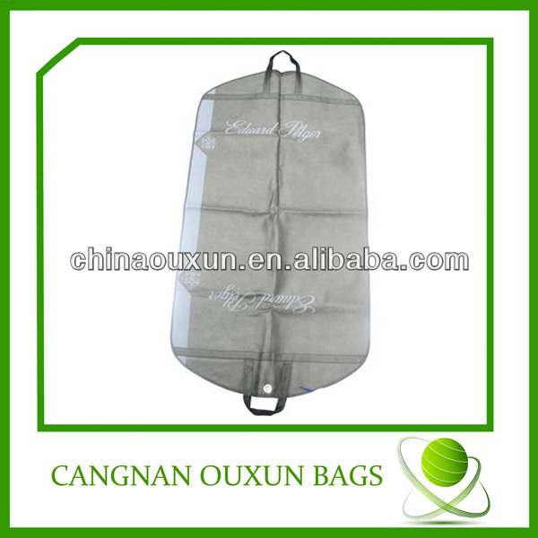 Latest non woven suit cover bags