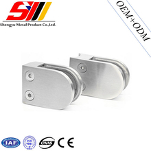 stainless steel 316 swiming pool glass railing clamp